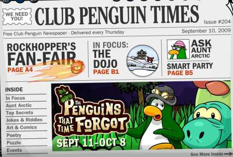 penguin frgot time news