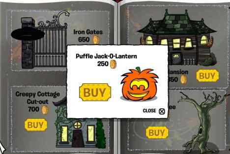 puffle jack o lnturn
